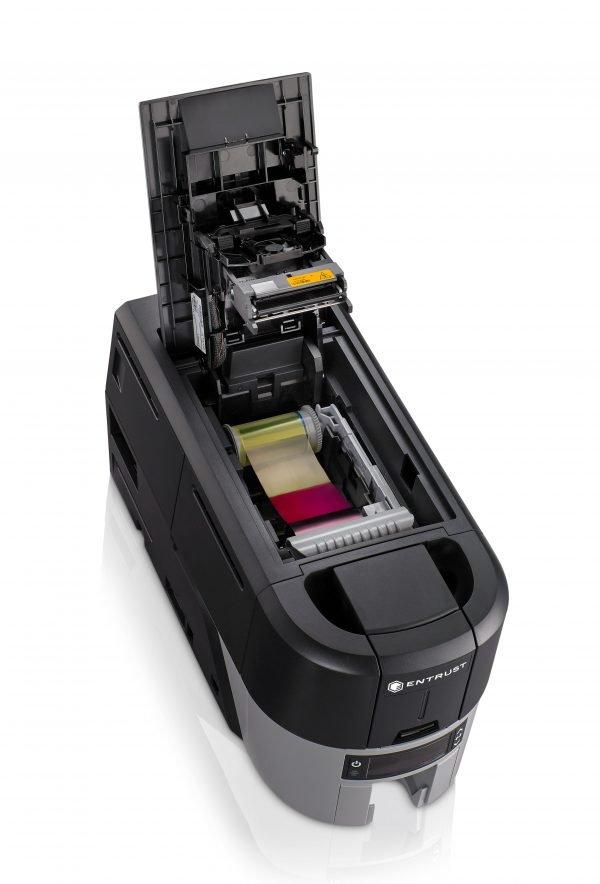 Impresora de carnets Sigma DS3 Abierta